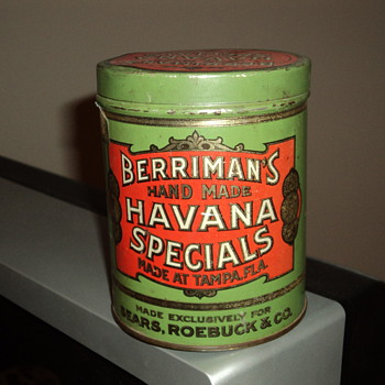 Cigar Tin - Tobacciana