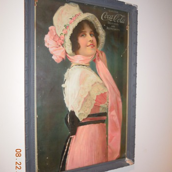 1914 Coca-Cola Calendar Partial