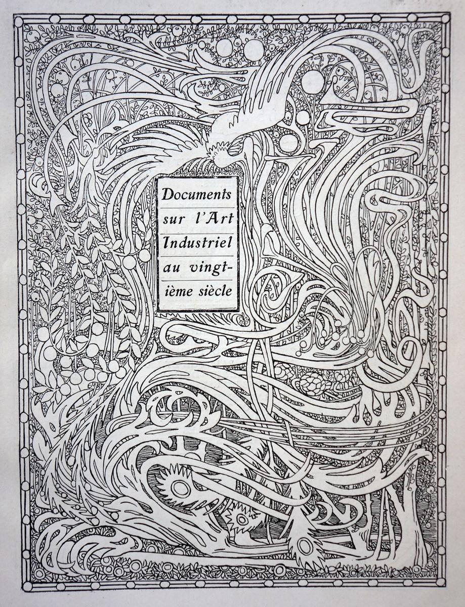 1901 la maison moderne design catalog collectors weekly