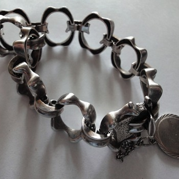 Sterling Silver 70's bracelet for a special occasion.