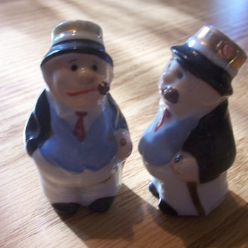 Vintage Salt and Pepper unknown Character