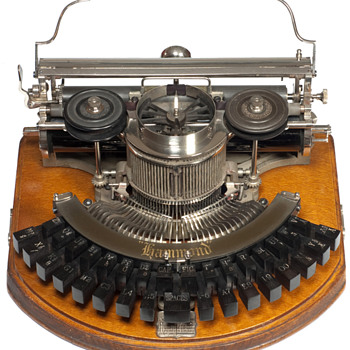 Hammond 1 typewriter - 1890