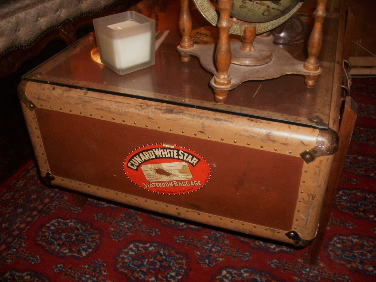 Luggage Coffee Table Collectors Weekly