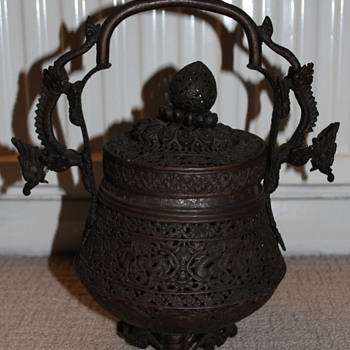 Unknown Chinese? Bronze Burner/Censer - Asian