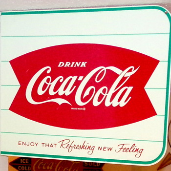 1960's Coca-Cola Flange Sign