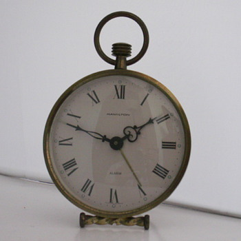 Pocket Watch Style Alarm Clock - Clocks
