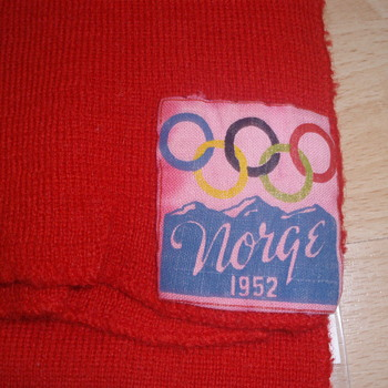 Scarf 1952 winter olympics