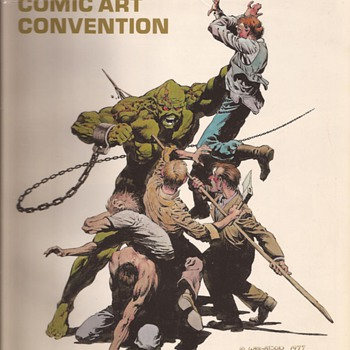 Wrightsen Convention cover - Comic Books