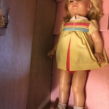 CHATTY CATHY IN HER BOX!  DOLL., 1959,Mattel