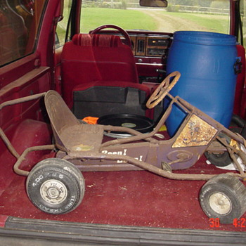Murray(?) Road Runner Go-Cart(?) Pedal Car(?) Tot Rod!