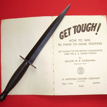 "Fairbairn's book ""GET TOUGH!"""