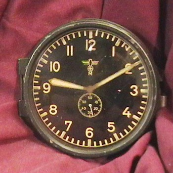 WW II German U Boat Clock - Military and Wartime