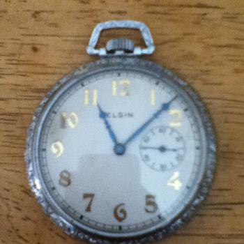 Unknown Elgin watch - Pocket Watches