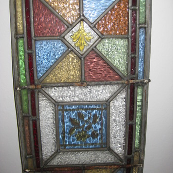 old stained glass panels - Art Glass