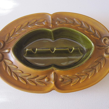 Haeger Ceramic Ashtray