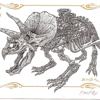 Emek Dino Card - Postcards