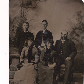 Family Ancestor, Second Half of Nineteen Century - Photographs