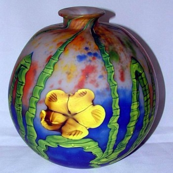 My most wonderful Kralik Bamboo - Art Glass