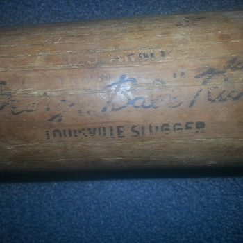 George Babe Ruth bat - Baseball