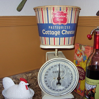 cottage cheese container - Kitchen