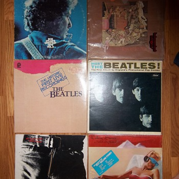 Rolling Stones - Beatles - Bob Dylan - Aerosmith - Vintage Records