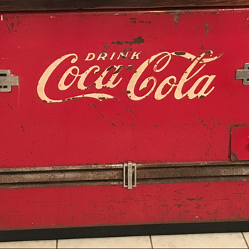 Coca Cola Cooler/Chest  - Coca-Cola