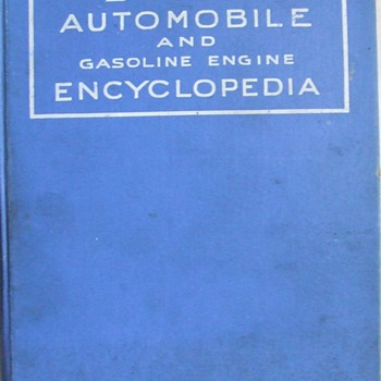 1931 Dyke's Automobile & Gasoline Engine Encyclopedia - Books