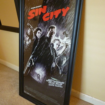 Sin City Original Movie Poster