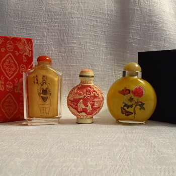 Snuff Bottles - Asian