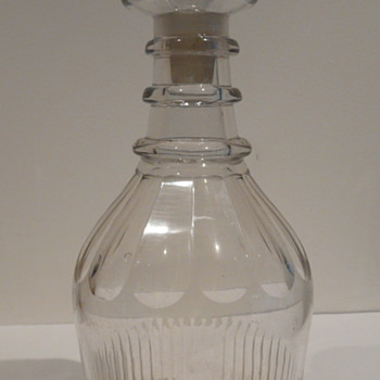 GEORGIAN DECANTER ENGLISH/IRISH - Art Glass