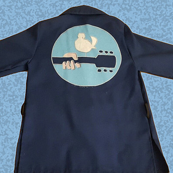 Rare 1970 Woodstock Movie PROMOTIONAL jacket / shirt - Mens Clothing