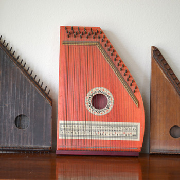 Vintage Zithers - Musical Instruments