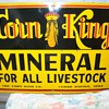 corn king sign