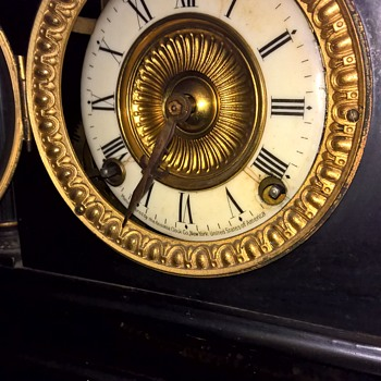 Can you help identify my Ansonia clock?