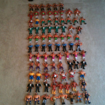 WWF Hasbro Action Figures - Toys