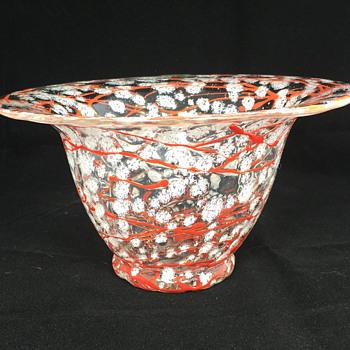 "Loetz Ausfuhrung C, Schneeflocken Vase. 4"" Tall. Circa 1935 - Art Glass"