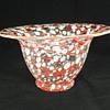 """Loetz Ausfuhrung C, Schneeflocken Vase. 4"""" Tall. Circa 1935"""