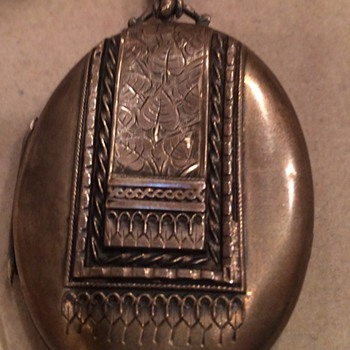 English Silver Locket