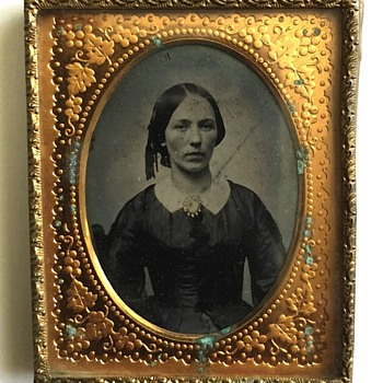 Lady Ambrotype photograph  - Photographs