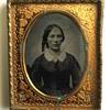Lady Ambrotype photograph