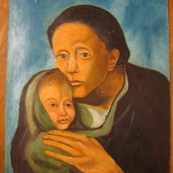 """MOTHER AND CHILD"" BY PARRETTA?"