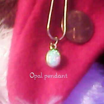 opal pendant - Fine Jewelry