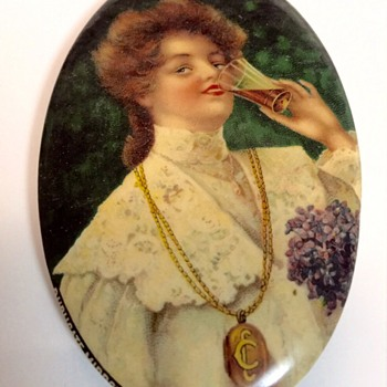 1906 Coca Cola Pocket Mirror