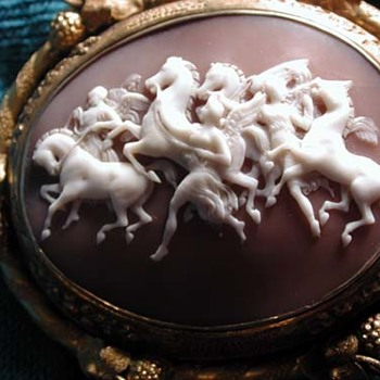 Cased wonderful Fates and hours horses  - Victorian Era