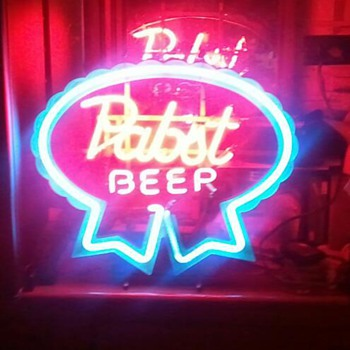 Vingage Pabst Beer Neon Sign - Breweriana