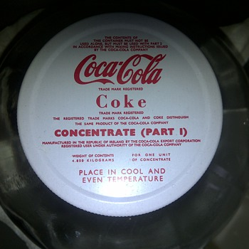 Coca Cola (Concentrate 1) Jar