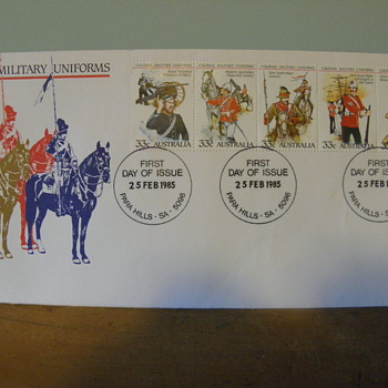 First Day Issue Envelope  - Stamps