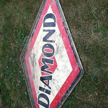 Diamond gas station sign? - Signs