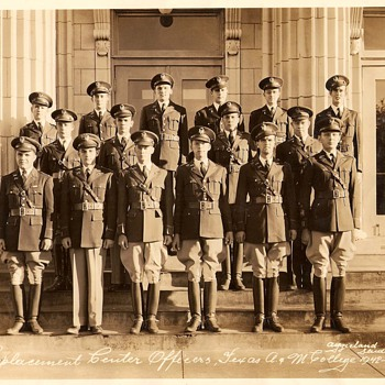 Texas A &amp; M 1942-43 Replacement Officers  - Photographs
