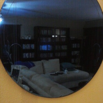 Cobalt Blue Mirror - Furniture